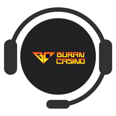 Buran Casino - Support