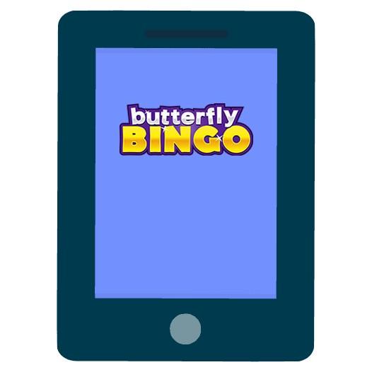 Butterfly Bingo Casino - Mobile friendly