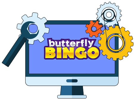 Butterfly Bingo Casino - Software