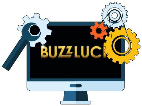 Buzzluck Casino - Software
