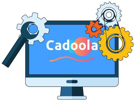 Cadoola Casino - Software