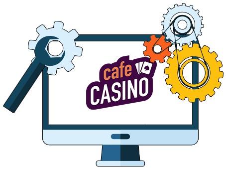 Cafe Casino - Software