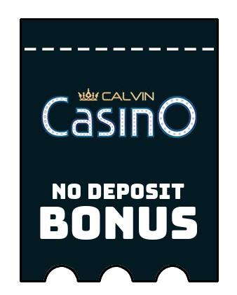 Calvin Casino - no deposit bonus CR