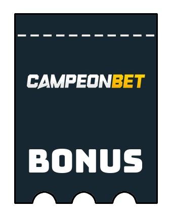 Latest bonus spins from Campeonbet Casino