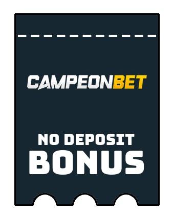 Campeonbet Casino - no deposit bonus CR