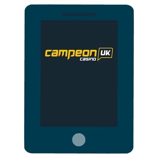 CampeonUK - Mobile friendly