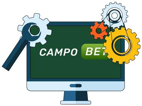 CampoBet Casino - Software