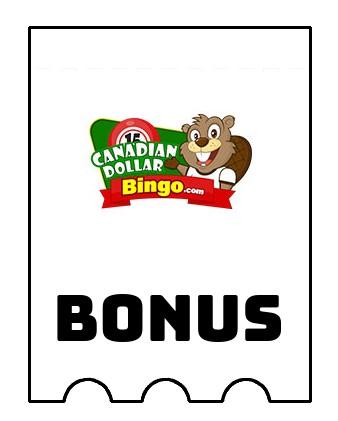 Latest bonus spins from Canadian Dollar Bingo