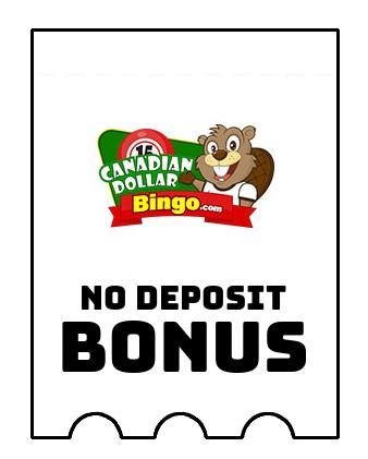 Canadian Dollar Bingo - no deposit bonus CR