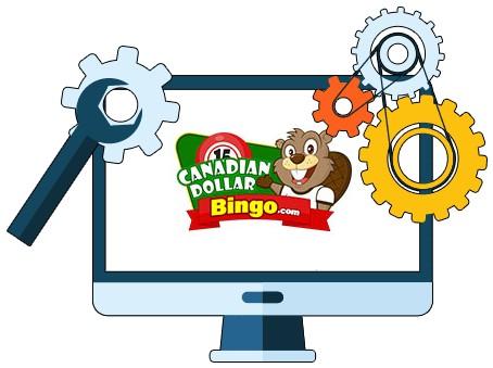 Canadian Dollar Bingo - Software