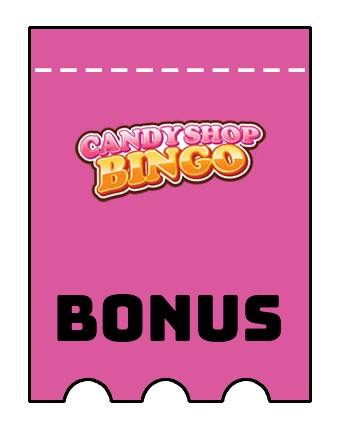 Latest bonus spins from Candy Shop Bingo Casino