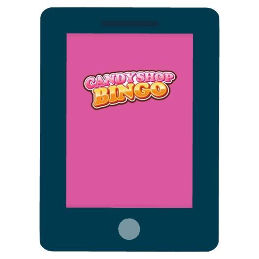 Candy Shop Bingo Casino - Mobile friendly