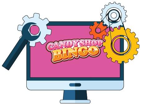 Candy Shop Bingo Casino - Software