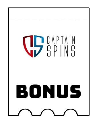 Latest bonus spins from Captain Spins