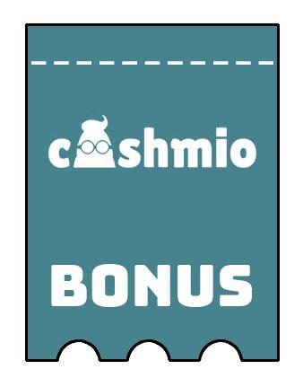 Latest bonus spins from Cashmio Casino