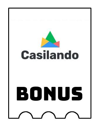 Latest bonus spins from Casilando Casino