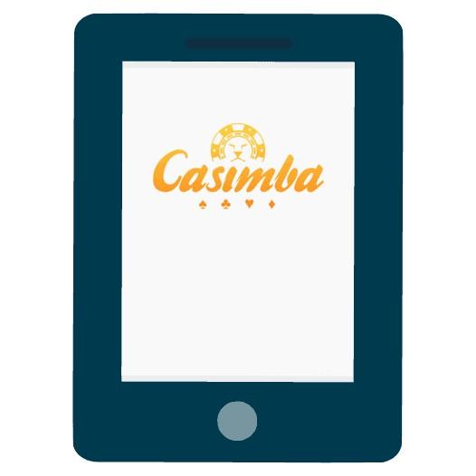 Casimba Casino - Mobile friendly