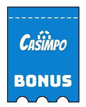 Latest bonus spins from Casimpo Casino
