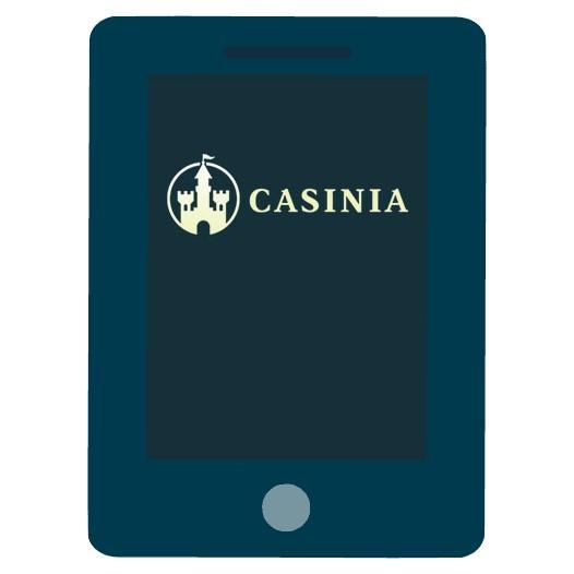 Casinia Casino - Mobile friendly