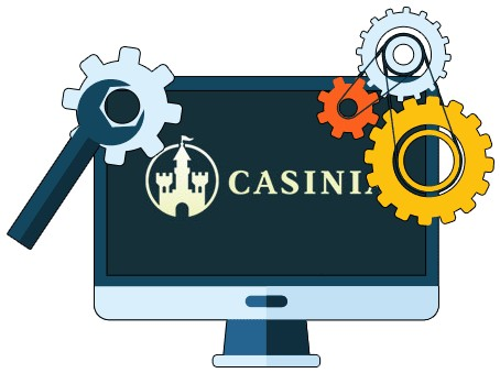Casinia Casino - Software