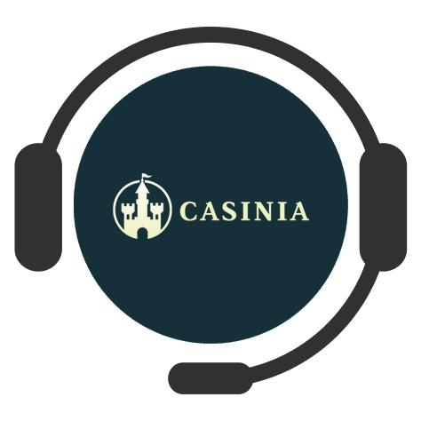 Casinia Casino - Support