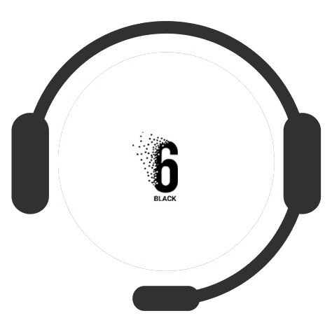 Casino 6 Black - Support