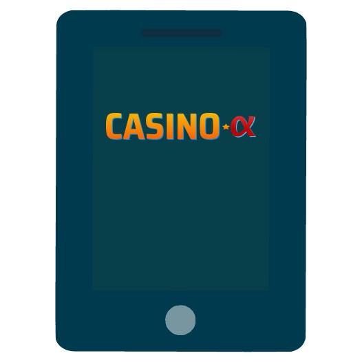 Casino Alpha - Mobile friendly