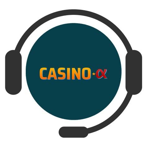 Casino Alpha - Support