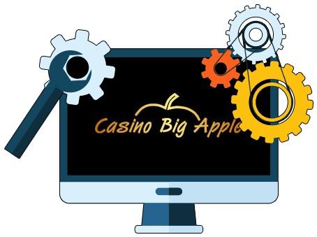Casino Big Apple - Software