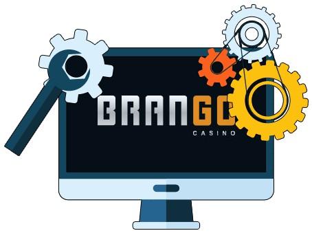 Casino Brango - Software
