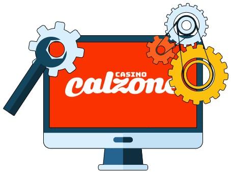 Casino Calzone - Software