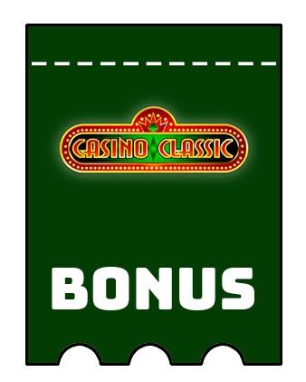 Latest bonus spins from Casino Classic