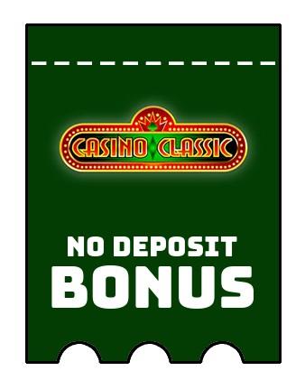 Casino Classic - no deposit bonus CR