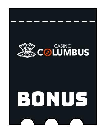 Latest bonus spins from Casino Columbus