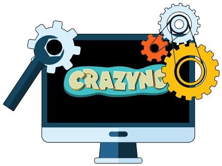 Casino Crazyno - Software