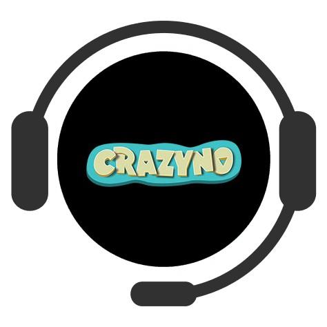 Casino Crazyno - Support