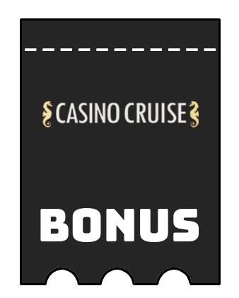 Latest bonus spins from Casino Cruise