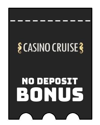 Casino Cruise - no deposit bonus CR