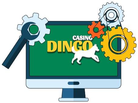 Casino Dingo - Software