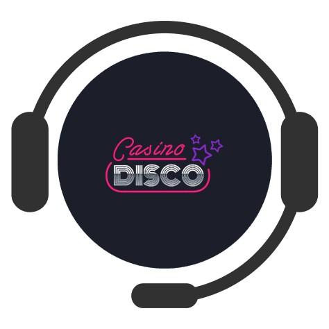 Casino Disco - Support