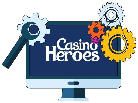 Casino Heroes - Software