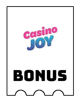 Latest bonus spins from Casino Joy