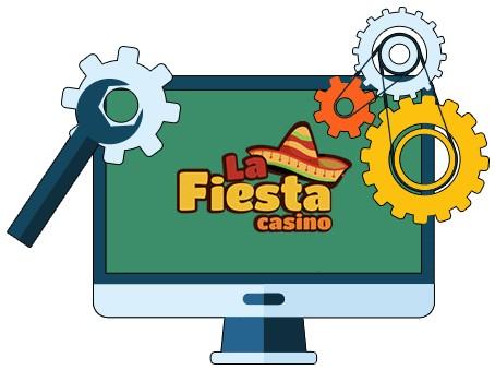 Casino La Fiesta - Software