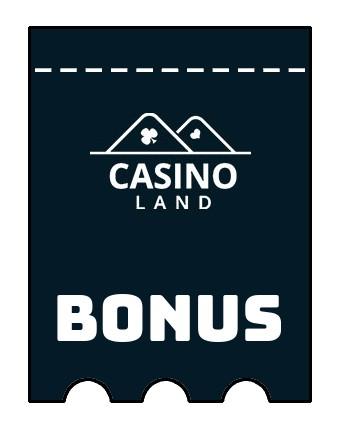 Latest bonus spins from Casino Land