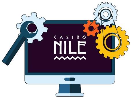 Casino Nile - Software