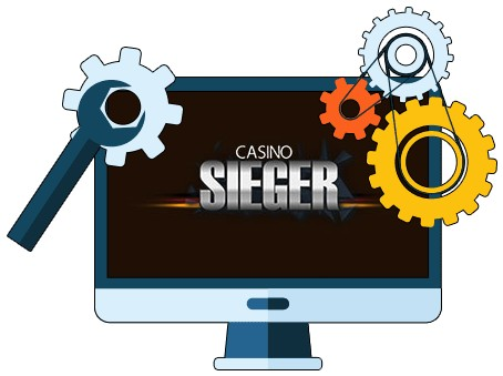 Casino Sieger - Software