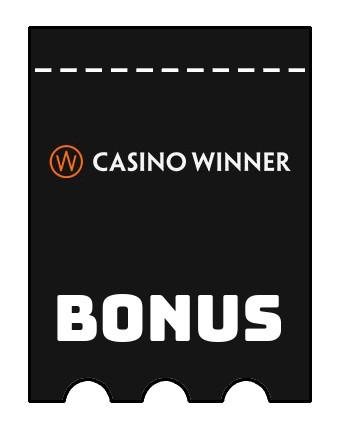 Latest bonus spins from Casino Winner