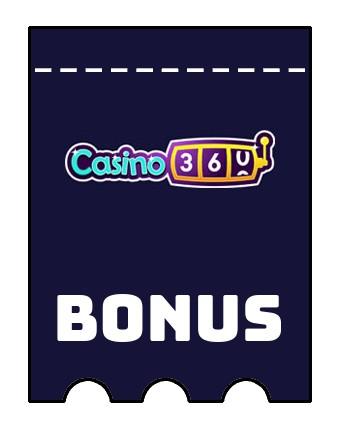 Latest bonus spins from Casino360