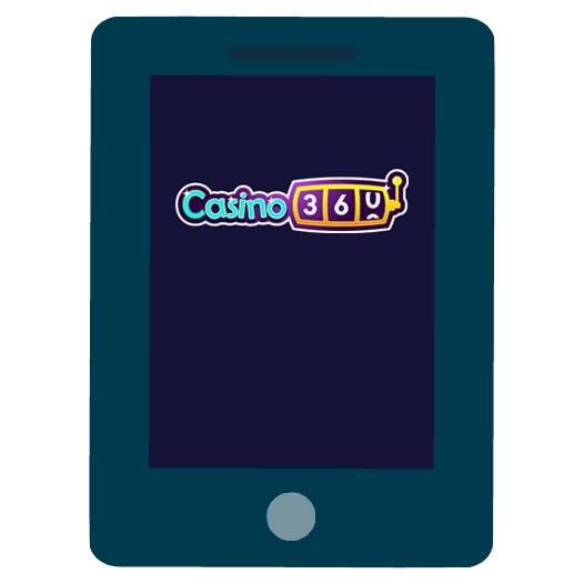 Casino360 - Mobile friendly