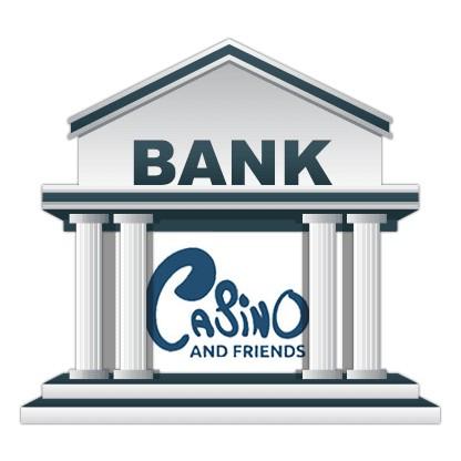 CasinoAndFriends - Banking casino